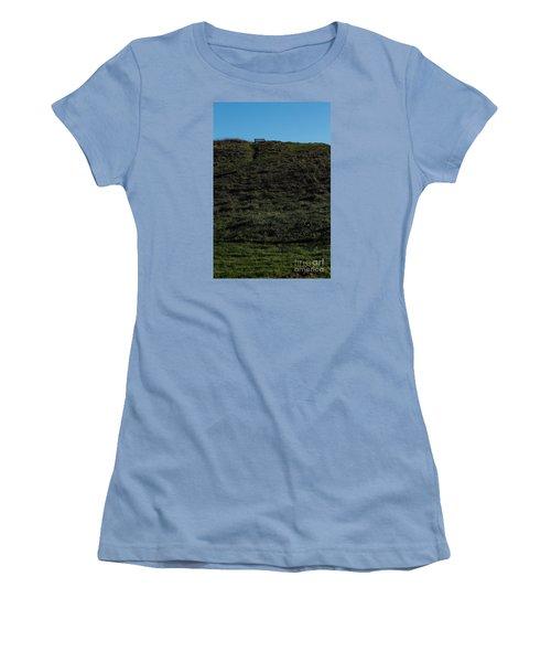 Women's T-Shirt (Junior Cut) featuring the photograph On The Hill by Gary Bridger