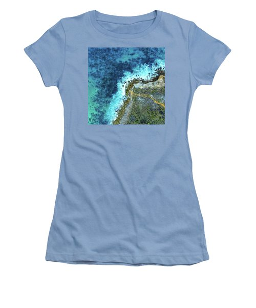 On The Rocks Women's T-Shirt (Athletic Fit)