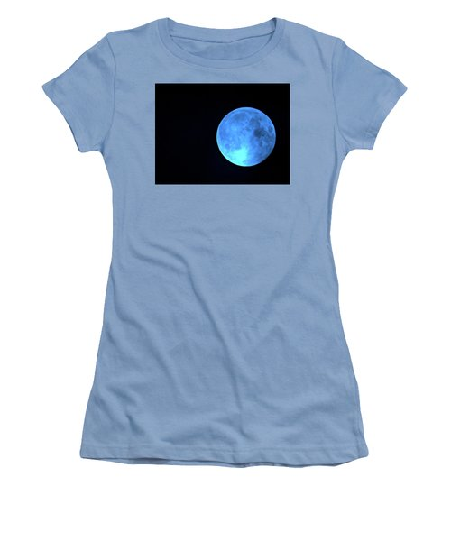 Once In A Blue Moon Women's T-Shirt (Athletic Fit)