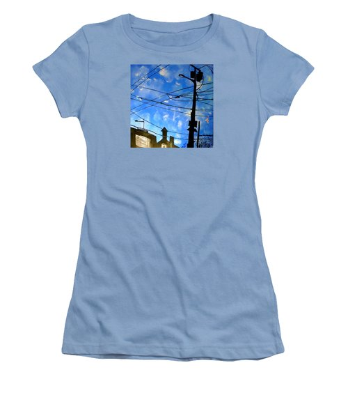 One Philly Sky Women's T-Shirt (Athletic Fit)