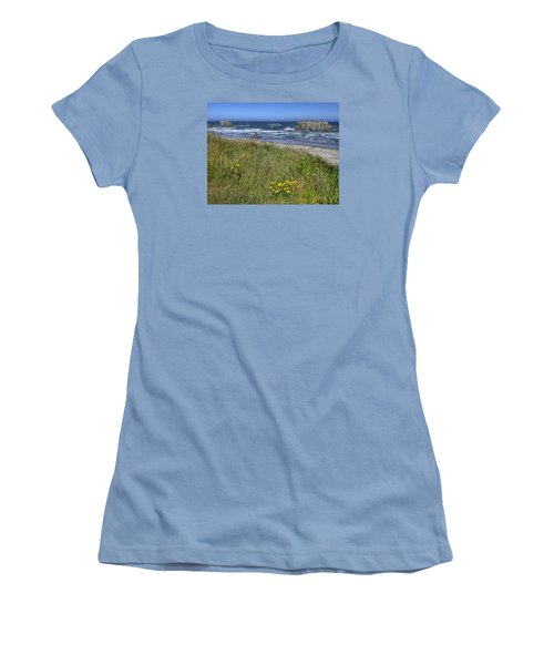 Women's T-Shirt (Athletic Fit) featuring the photograph Oregon Beauty by Wanda Krack