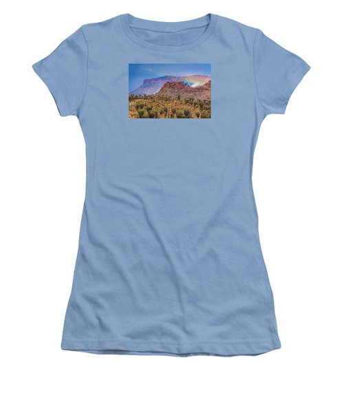 Outback Rainbow Women's T-Shirt (Junior Cut) by Racheal  Christian