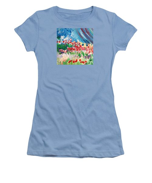 A Corner Of Her Women's T-Shirt (Junior Cut) by Charity Janisse