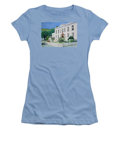 Palace Barracks Women's T-Shirt (Junior Cut) by Tim Johnson
