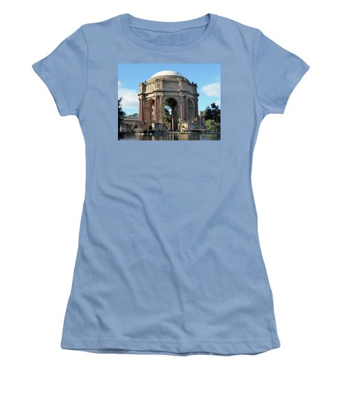 Women's T-Shirt (Junior Cut) featuring the photograph Palace Of Fine Arts by Steven Spak