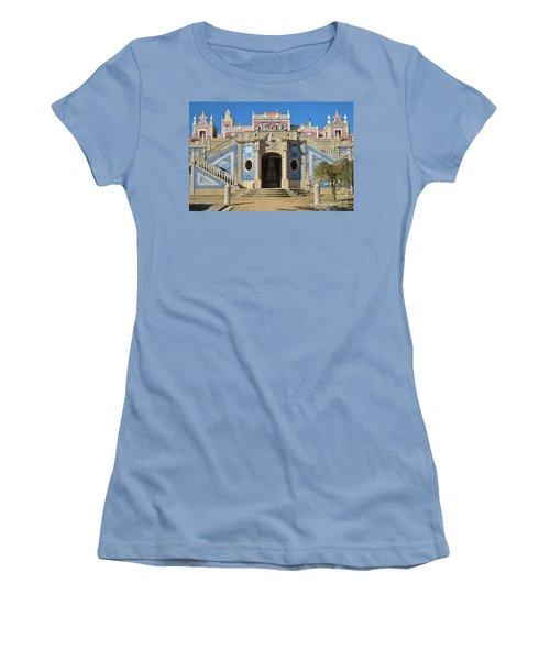 Palacio De Estoi Front View Women's T-Shirt (Athletic Fit)