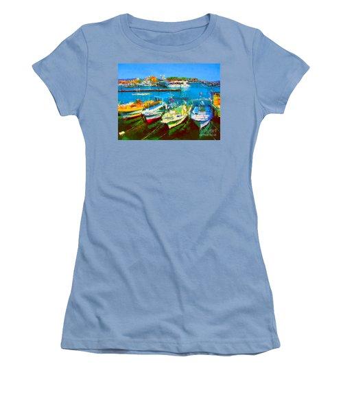 Pangas En Marina Women's T-Shirt (Junior Cut)