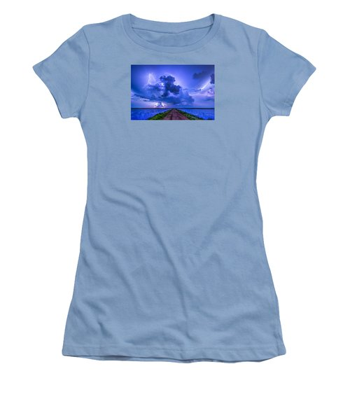 Panhandle Flood Women's T-Shirt (Athletic Fit)