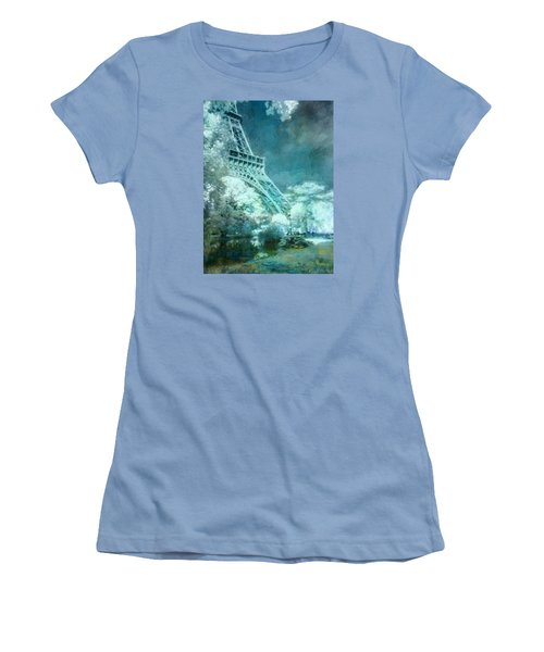 Parisian Dream Women's T-Shirt (Junior Cut) by John Rivera
