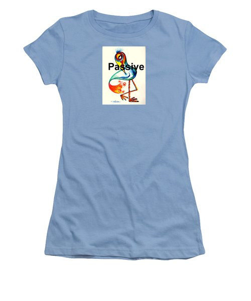 Passive Taino Bird Women's T-Shirt (Athletic Fit)