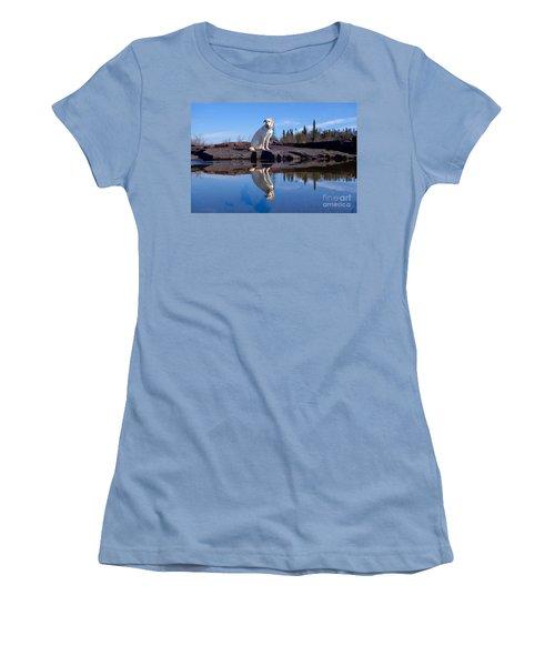 Perfect Reflections Women's T-Shirt (Junior Cut) by Sandra Updyke