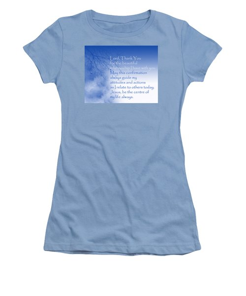 Perfect Relationship Women's T-Shirt (Junior Cut) by Trilby Cole