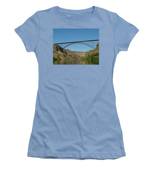 Perrine Bridge Women's T-Shirt (Athletic Fit)