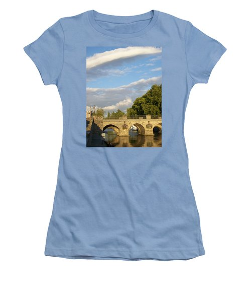 Women's T-Shirt (Junior Cut) featuring the photograph Picturesque by Mary Mikawoz