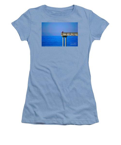 Pier Man Women's T-Shirt (Athletic Fit)