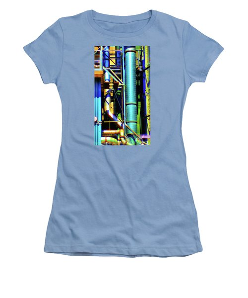 Pipes Women's T-Shirt (Athletic Fit)