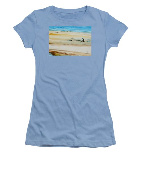 Pleasant Bay Clammer Women's T-Shirt (Athletic Fit)