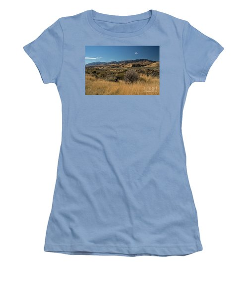 Pocatello Area Of South Idaho Women's T-Shirt (Junior Cut) by Cindy Murphy - NightVisions