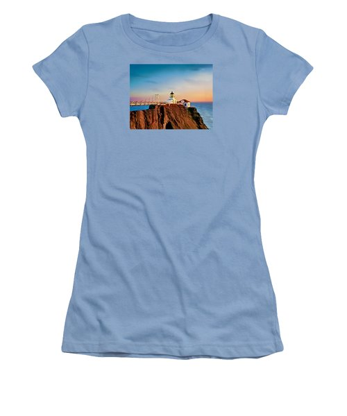 Point Bonita Lighthouse Women's T-Shirt (Athletic Fit)