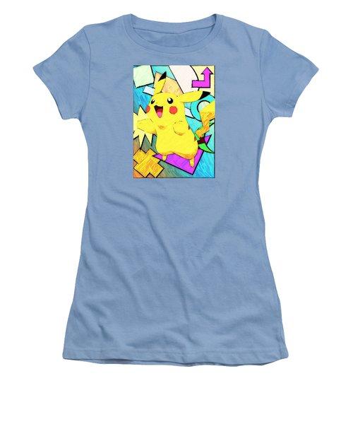 Pokemon - Pikachu Women's T-Shirt (Athletic Fit)