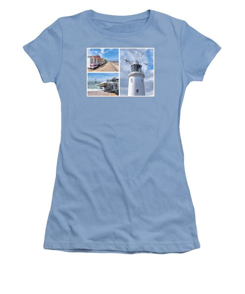 Postcard From Southwold Women's T-Shirt (Athletic Fit)