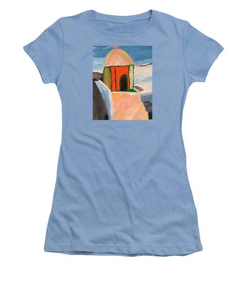 Prayer Hut Women's T-Shirt (Athletic Fit)
