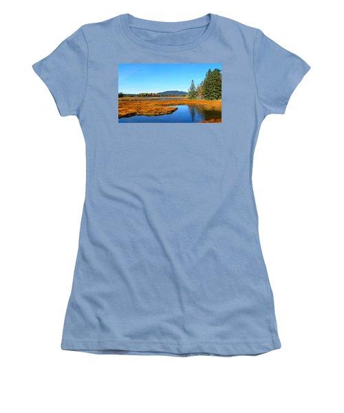 Pretty Marsh Women's T-Shirt (Athletic Fit)