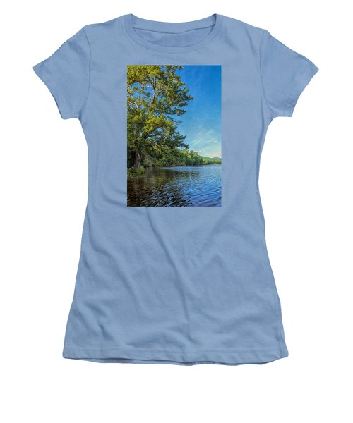 Price Lake Women's T-Shirt (Junior Cut) by Swank Photography