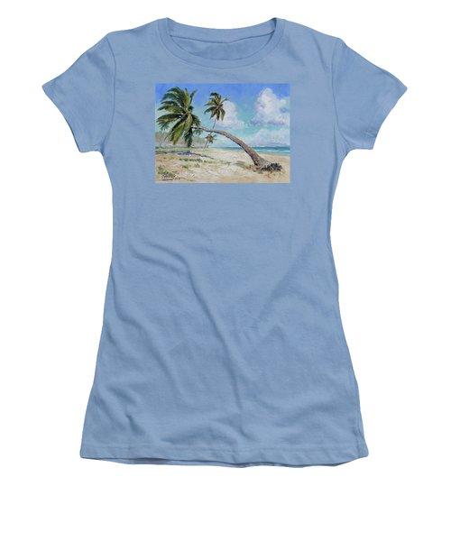 Punta Cana - Sea Beach 13 Women's T-Shirt (Athletic Fit)