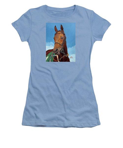 Radamez - Arabian Race Horse Women's T-Shirt (Athletic Fit)