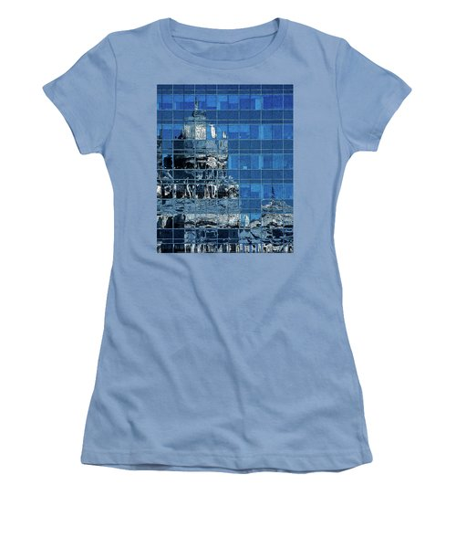 Reflection And Refraction Women's T-Shirt (Junior Cut) by Alex Galkin