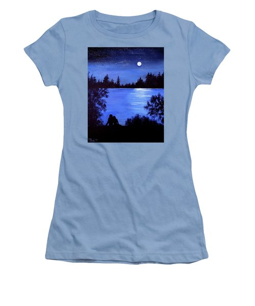 Reflection By The Water Women's T-Shirt (Athletic Fit)