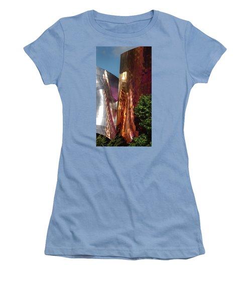Reflective Buildings Women's T-Shirt (Athletic Fit)