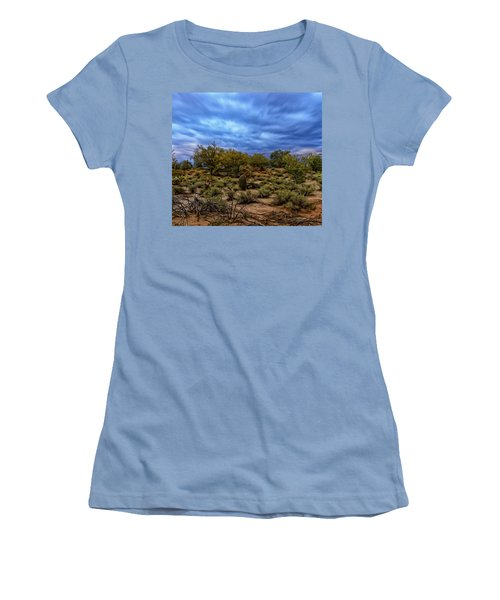 Women's T-Shirt (Athletic Fit) featuring the photograph Rejuvenation Op19 by Mark Myhaver
