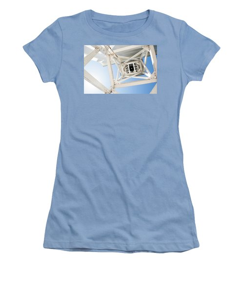 Women's T-Shirt (Junior Cut) featuring the photograph Ringing Of The Chapel Bell by Parker Cunningham