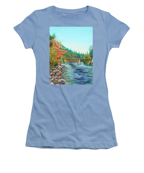 Riverdance Women's T-Shirt (Athletic Fit)