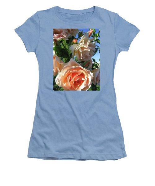 Rose Di Vine Women's T-Shirt (Junior Cut) by Brooks Garten Hauschild
