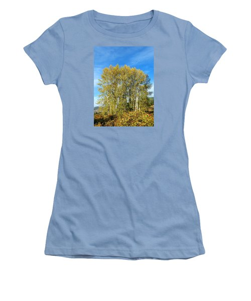 Rosehips And Cottonwoods Women's T-Shirt (Junior Cut) by Will Borden