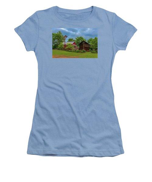 Rosholt Pioneer Park Women's T-Shirt (Junior Cut) by Trey Foerster