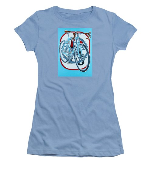 Rourke Bicycle Women's T-Shirt (Athletic Fit)