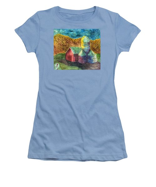 Rural Farm Women's T-Shirt (Athletic Fit)