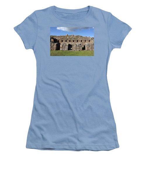 Sacsaywaman Cusco, Peru Women's T-Shirt (Junior Cut) by Aidan Moran