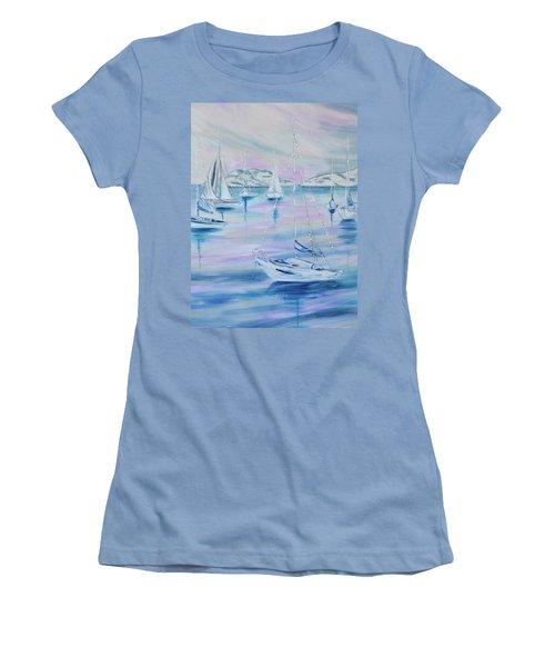 Sailing Women's T-Shirt (Athletic Fit)