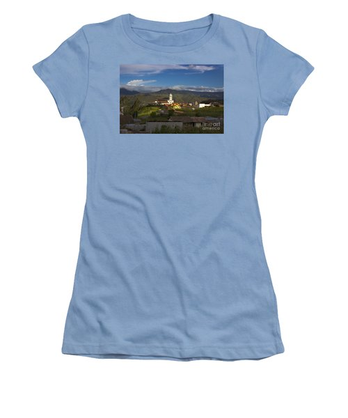 San Bartolomeo Is Famous For It's Guitars Women's T-Shirt (Athletic Fit)