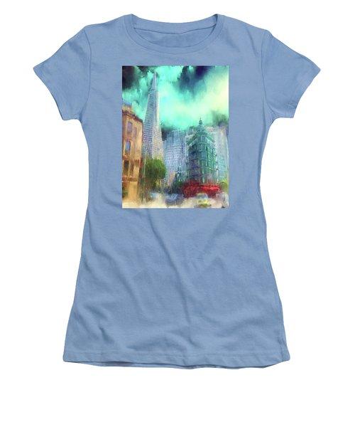 San Francisco Women's T-Shirt (Athletic Fit)