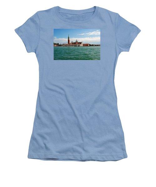 San Giorgio Maggiore Canal Shot Women's T-Shirt (Junior Cut) by Robert Moss