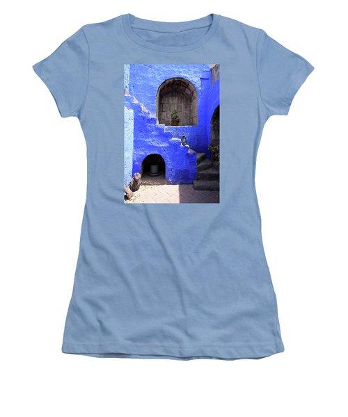 Santa Catalina Monastery, Arequipa, Peru Women's T-Shirt (Junior Cut) by Aidan Moran
