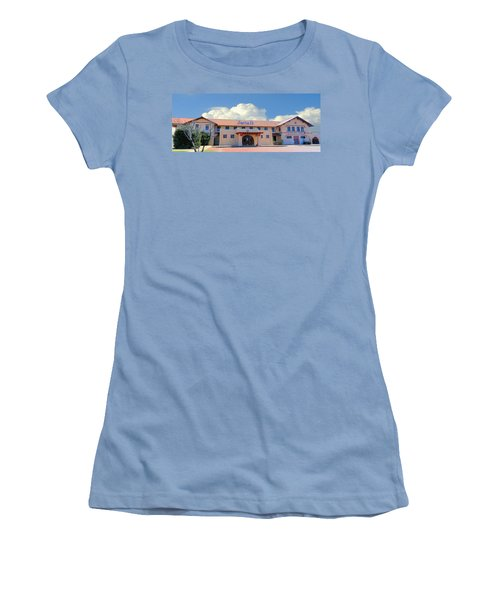Santa Fe Depot In Amarillo Texas Women's T-Shirt (Athletic Fit)
