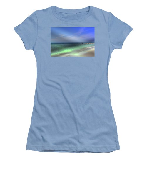 Sarasota Ocean  Women's T-Shirt (Athletic Fit)