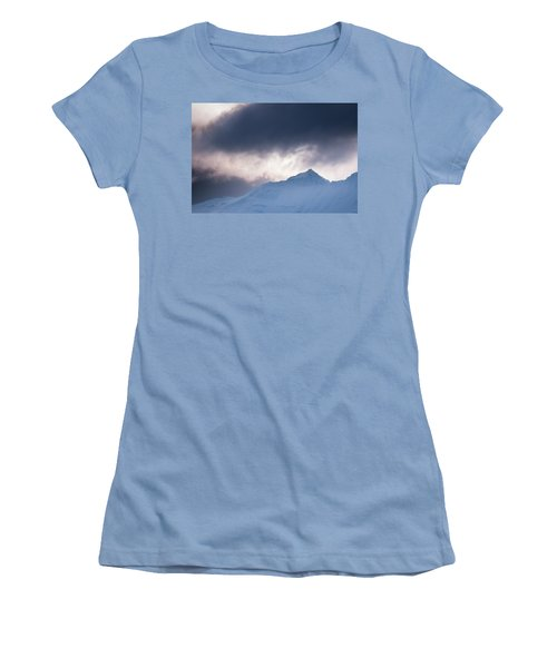 Savage Mountain Women's T-Shirt (Athletic Fit)